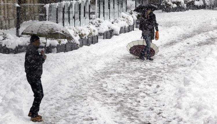 Scuole chiuse e piani di emergenza neve nei comuni della for Cammina nei piani della dispensa