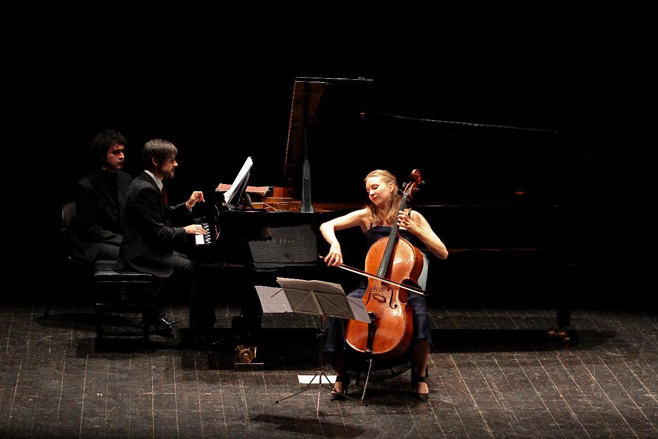 concerto di Marie Elisabeth Hecker e José Gallardo,