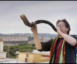 AC shofar on roof+