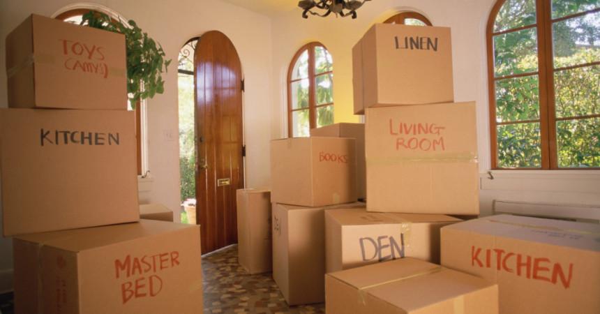 Come organizzare un trasloco efficace nella nostra casa