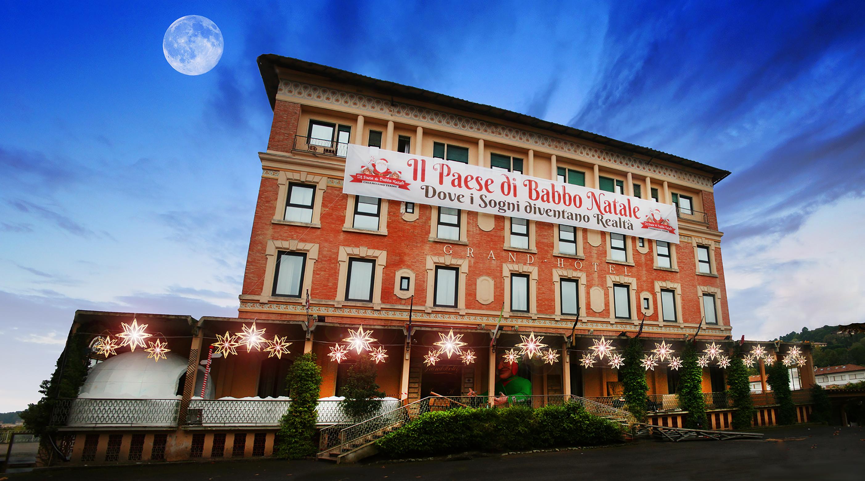 Casa Di Babbo Natale Chianciano.Babbo Natale Abita A Chianciano Terme Siena News