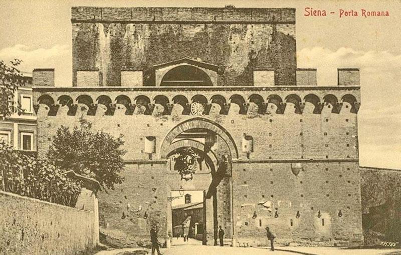 Porta romana capolavoro di architettura che unisce - Porta romana viaggi ...