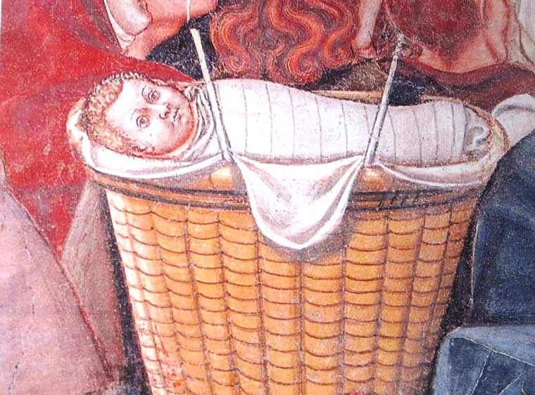 Il-gettatello-nella-cesta-(
