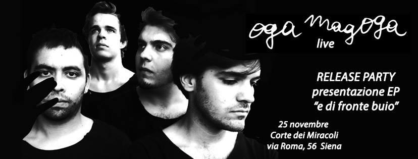Oga Magoga live@Corte dei Miracoli