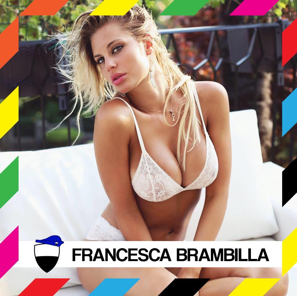 Francesca Brambilla Calendario.Francesca Brambilla A Siena Madrina 2017 Per Le Feriae