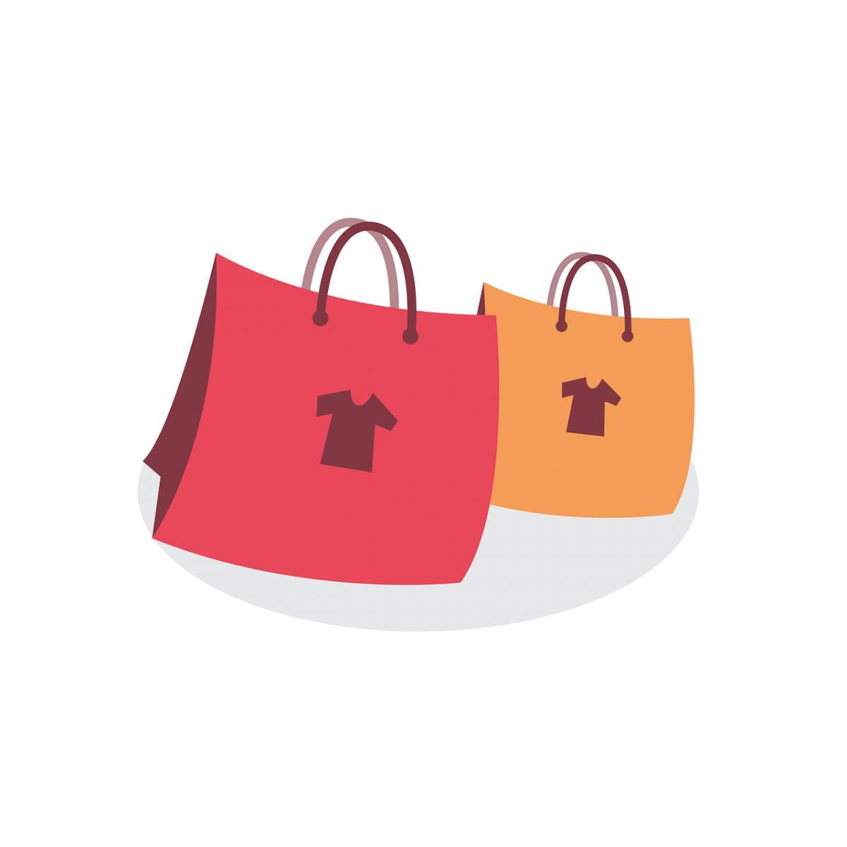 0a7c59853d Buste per la spesa personalizzate, shopper bag come si chiamano in termine  tecnico, che vengono fornite ai clienti per facilitare il trasporto di  quanto ...
