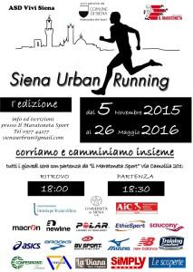 Siena Urban Running
