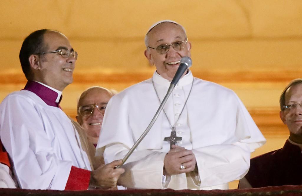 Papa Jorge Mario Bergoglio con il nome di Francesco I