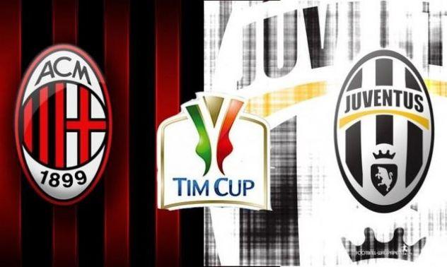 Coppa Italia: la Juve per la storia, il Milan per salvare la faccia
