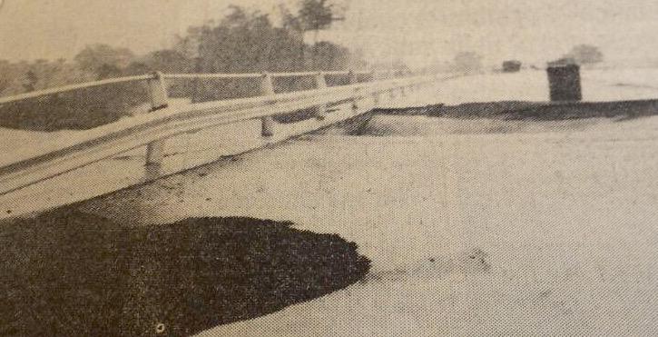 ponte a Taverne d'Arbia, sulla Siena-Bettolle