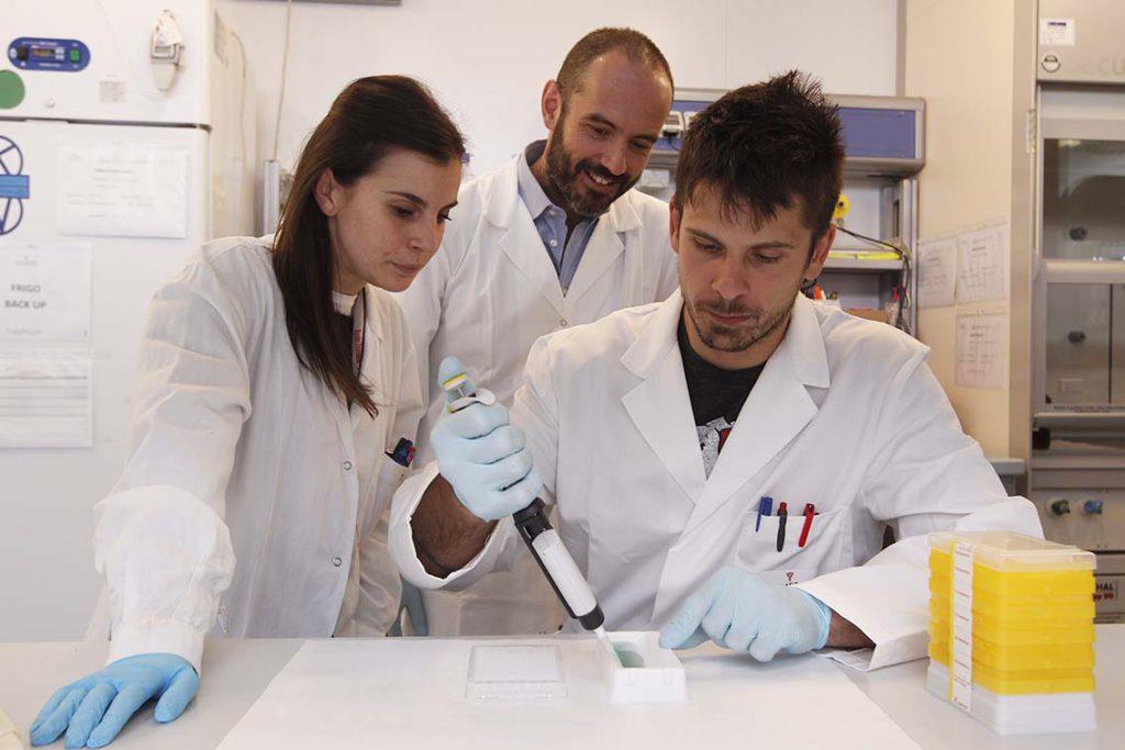 Emanuele Montomoli nei laboratori di VisMederi