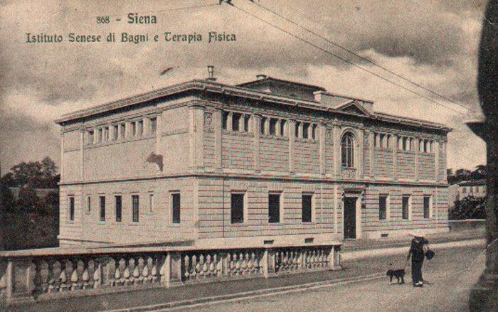Il 19 maggio 1912 fu inaugurato l'istituto Senese di Bagni e Terapia Fisica