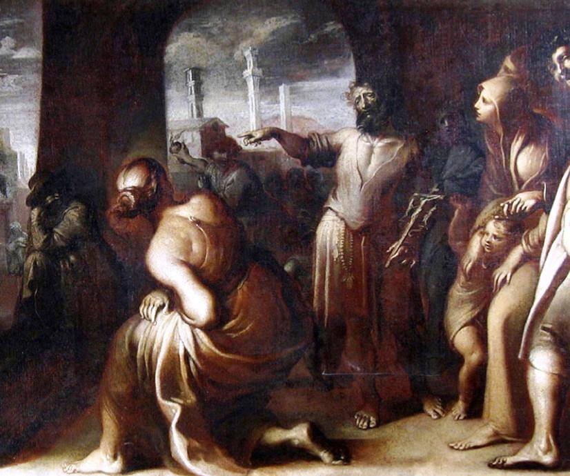 Il 24 maggio 1554 muore a Siena, Bartolomeo Carosi (o Garosi), detto Brandano