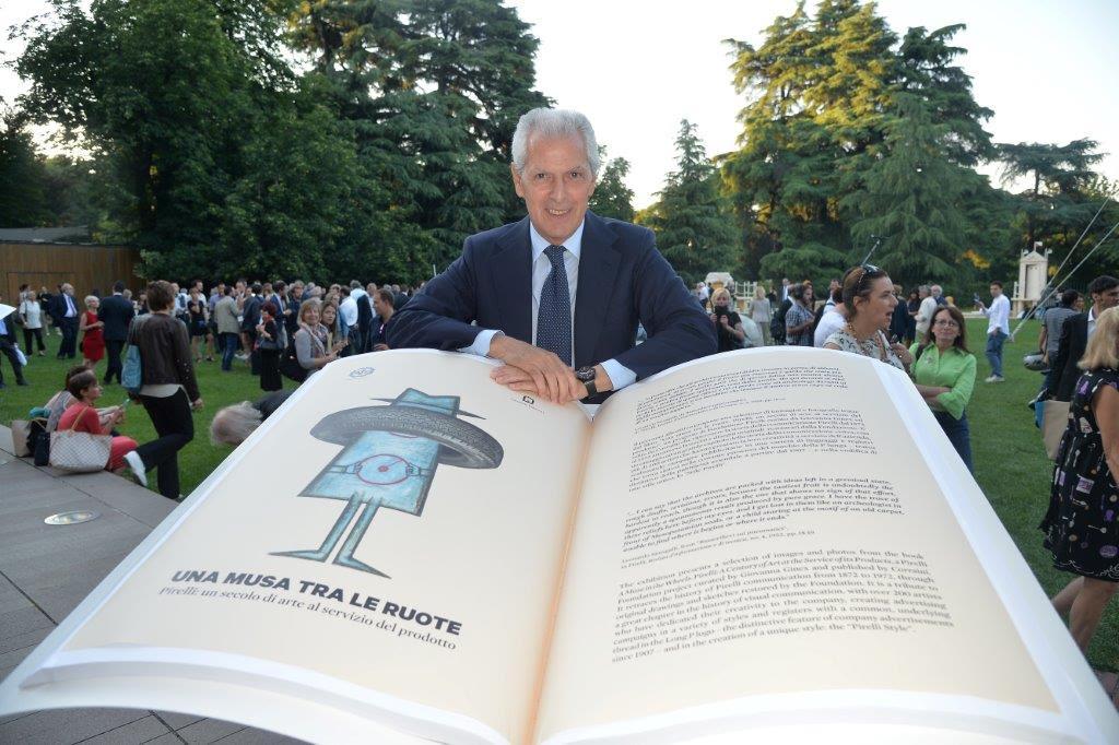 """""""La Pubblicità con la P maiuscola"""": Pirelli dagli anni Settanta agli anni Duemila."""