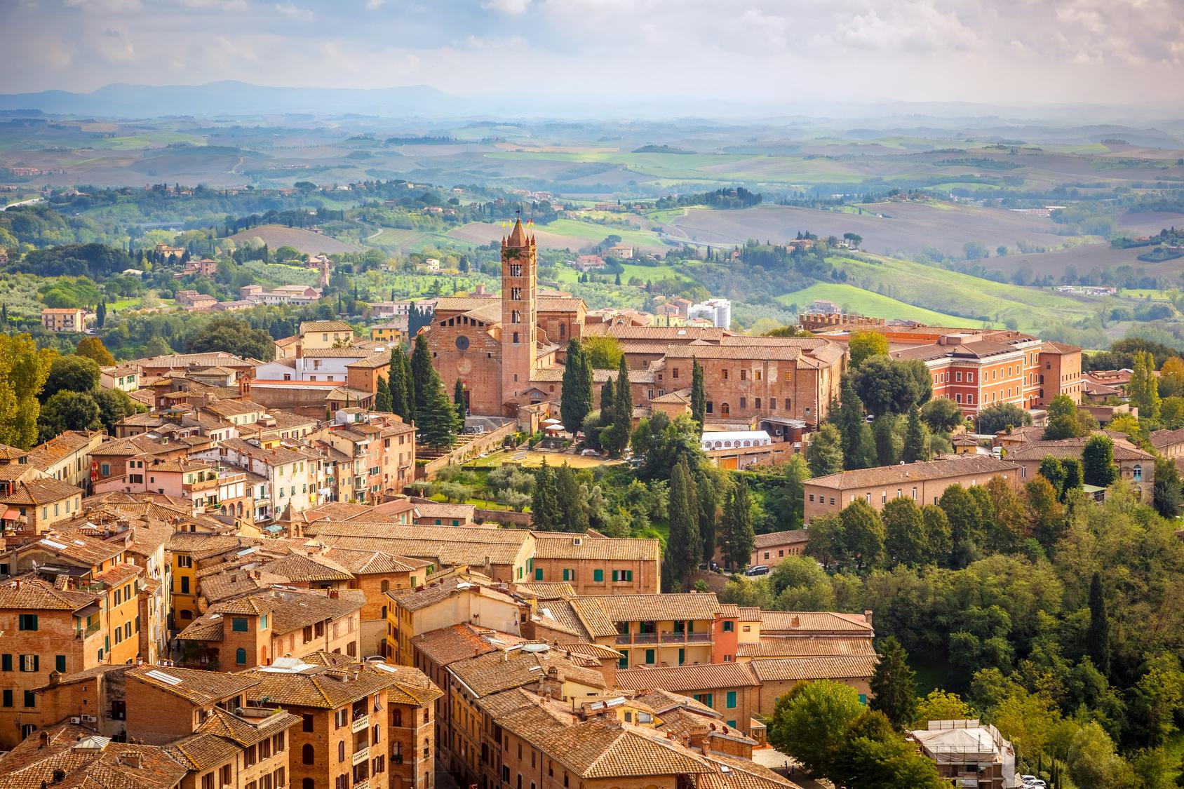 Siena vincolo paesaggistico per appartamenti anni 39 50 e for Vincolo paesaggistico